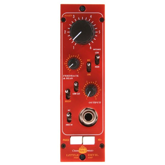 Chandler Little Devil Preamp - Front