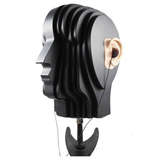 Soundman OKM Dummy Head, Black