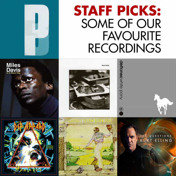 STAFF PICKS: our favourite recordings