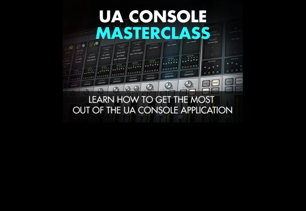 Understanding the UA Console Mixer Application
