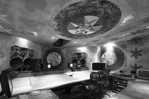 Strong-Room Control Room