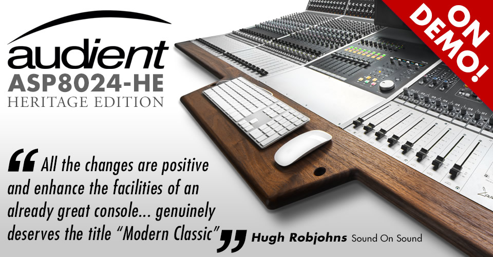 Audient ASP8024HE On Demo