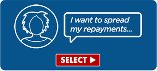 I want to spread my repayments