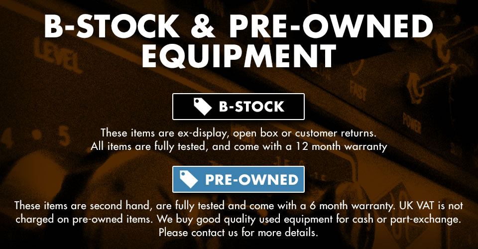 B-Stock and Pre-Owned Specials