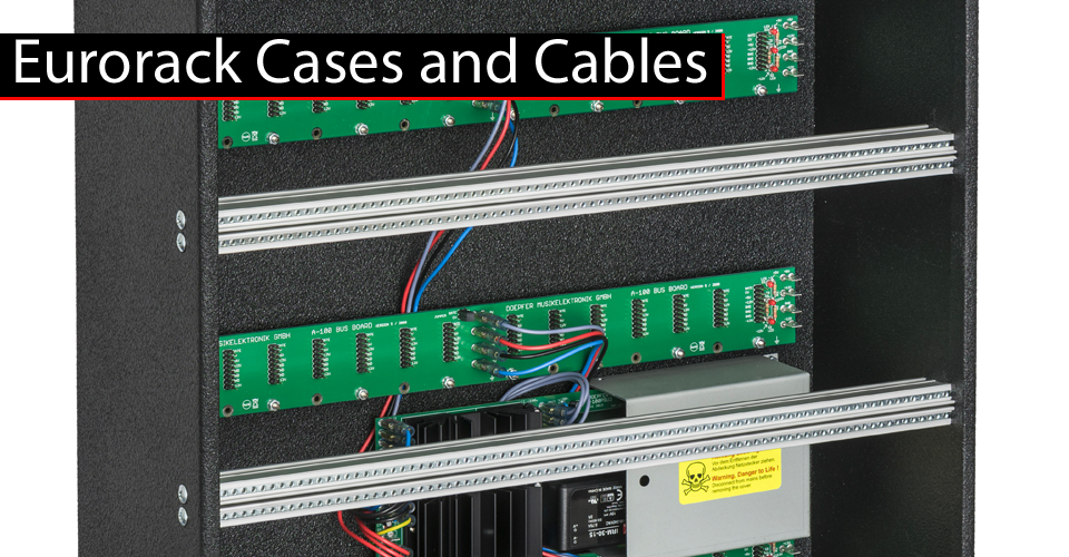 Eurorack Cases and Cables at KMR