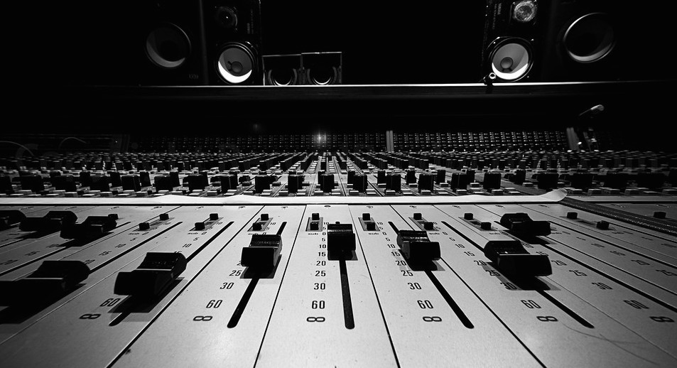 Mixing Desk Front