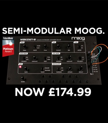 Moog Werkstatt 01 DIY kit now only £174.99