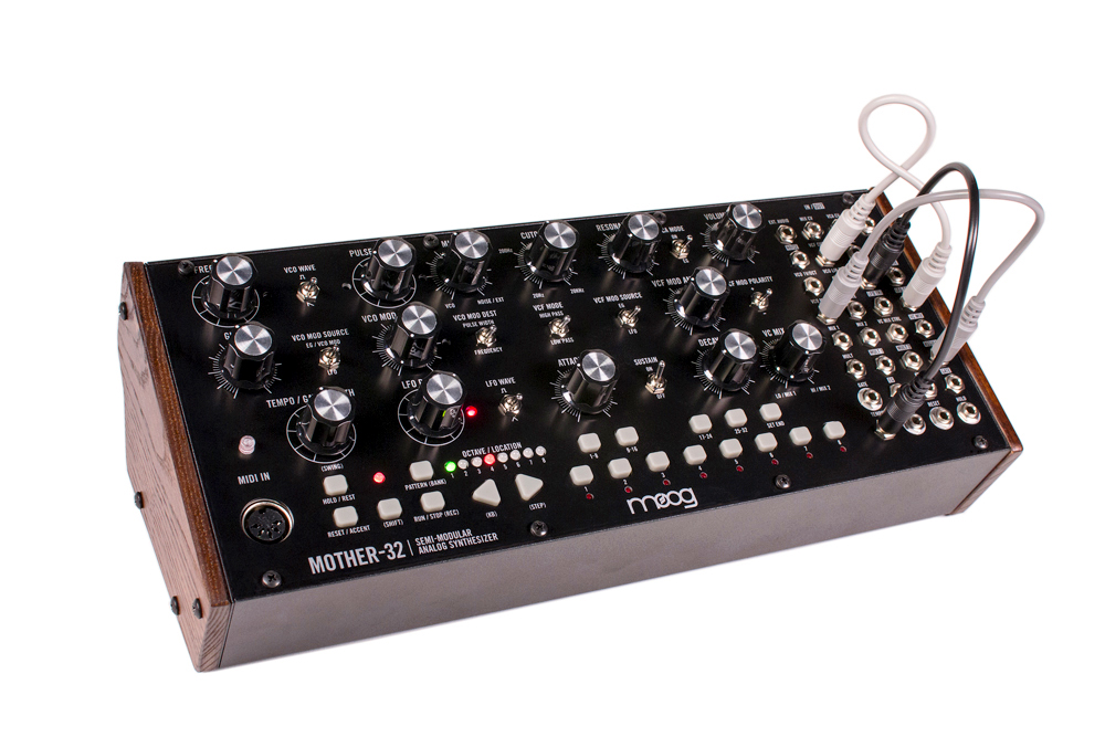 Moog Mother 32 Side Profile