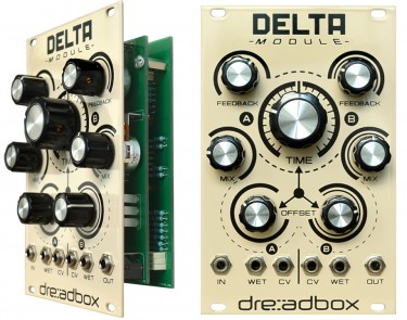 Not just a looker, the Delta is a very versatile delay circuit.