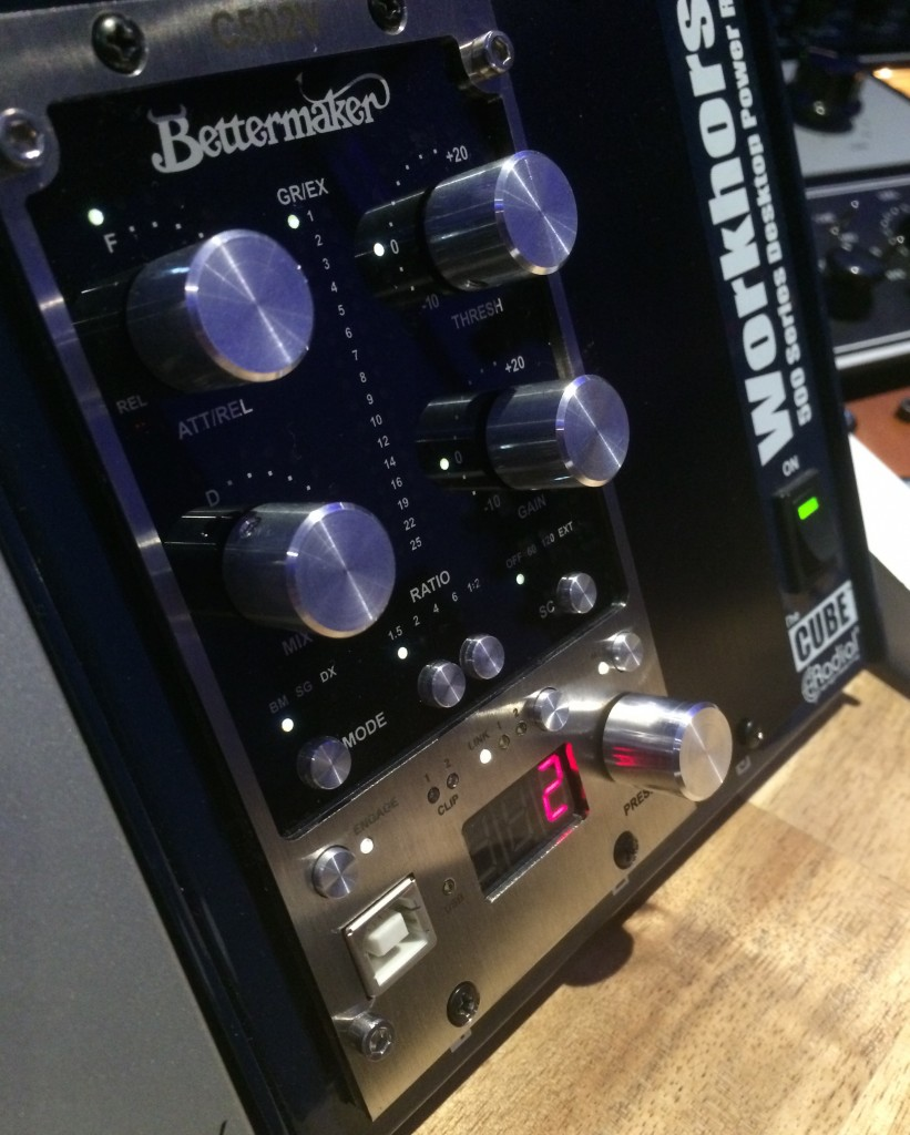 Bettermaker C502V in studio
