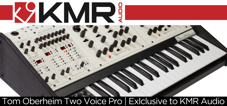 Tom Oberheim Two Voice Pro Exclusive