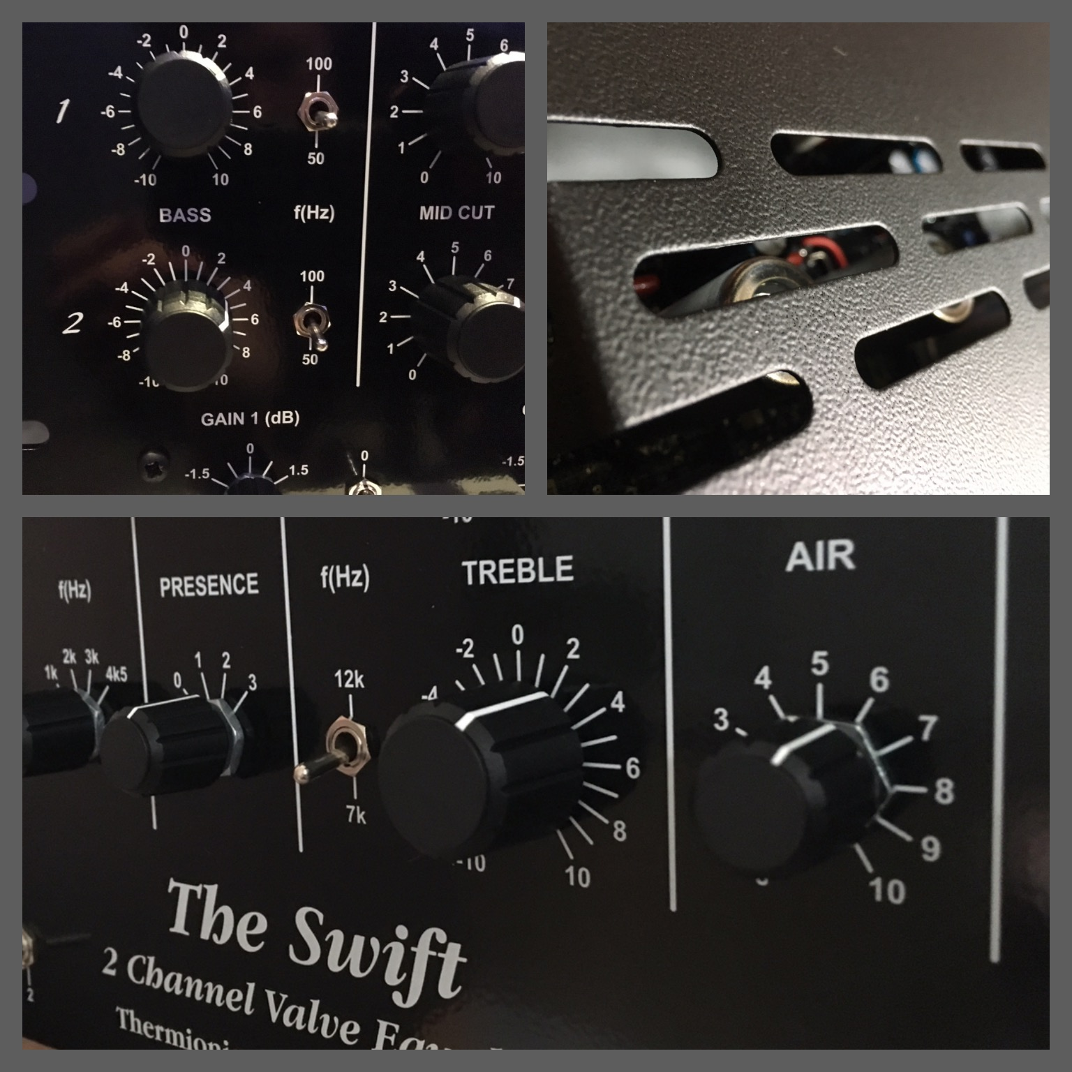 Swift EQ Collage