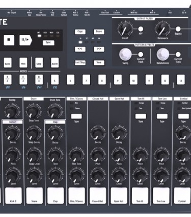 Arturia DrumBrute Drum Machine Annouced
