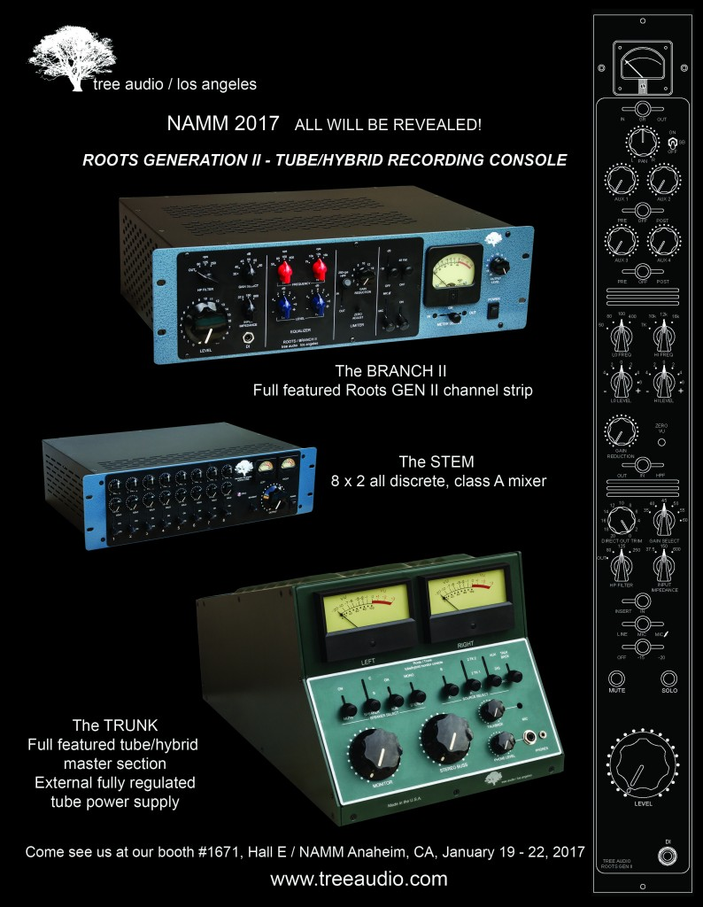 Tree Audio NAMM 2017 KMR
