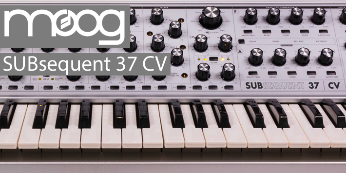 Moog Subsequent 37 News