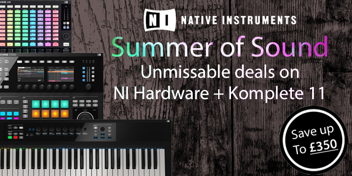 NI Summer Of Sound Promotion