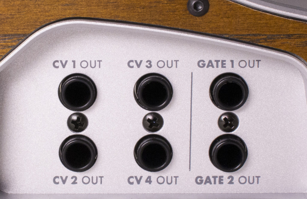 Assignable CV and gate for your Eurorack world.
