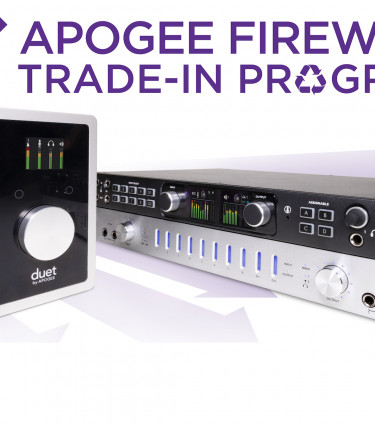 Apogee Duet and Ensemble Trade-in Offer