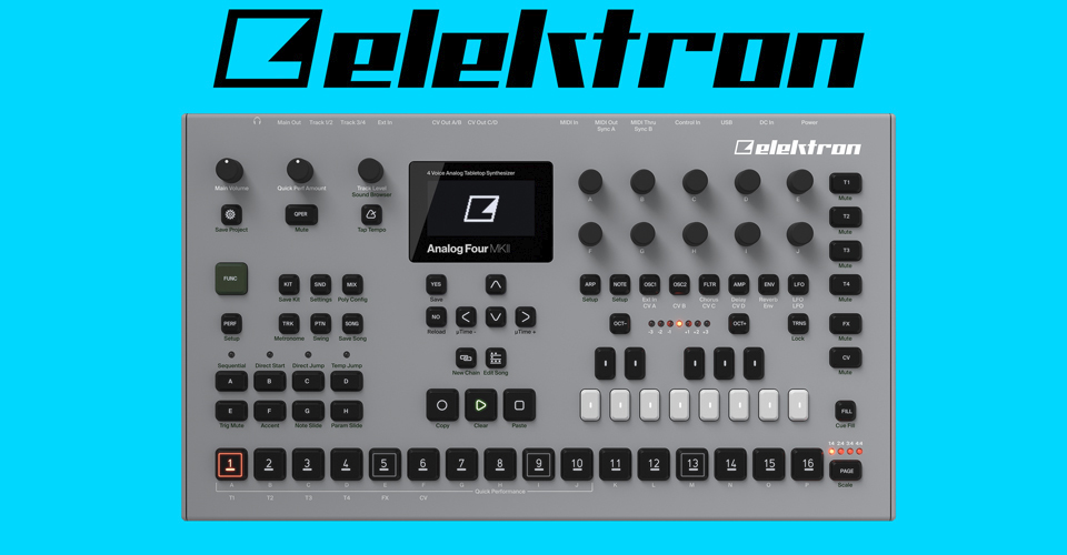 Elektron Announces MKII