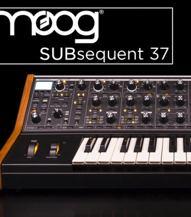 The new Sub37: Moog Introduce Subsequent 37