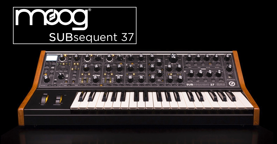 Moog Subsequent 37 Release