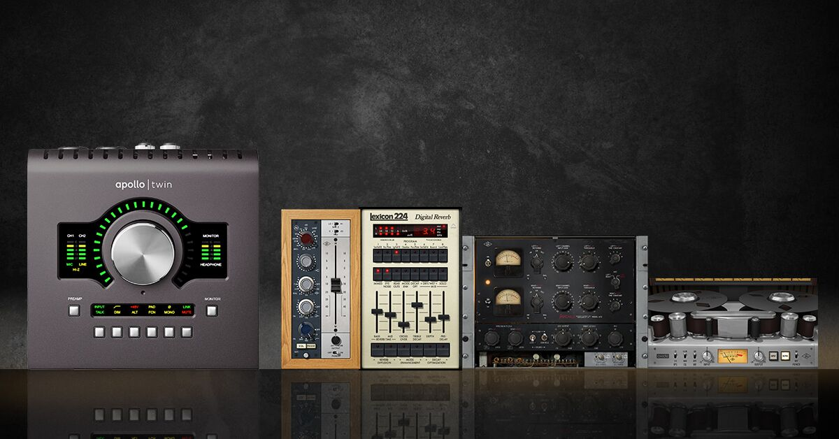 Universal Audio  Apollo Twin & Free Plug-ins