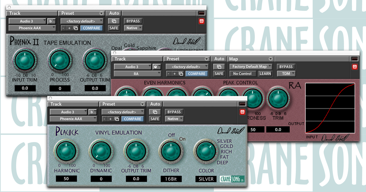 Crane Song Plugins KMR