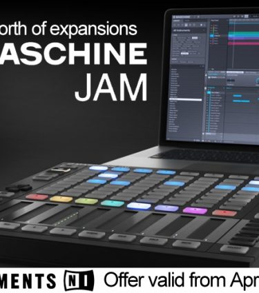 Get £300 Worth of FREE Expansions With Maschine Jam