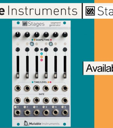 Mutable Instruments Stages Announced