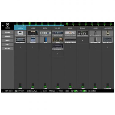 UAD-2 Live Rack Software Close Up