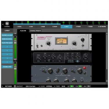 Universal Audio UAD-2 Live Rack Software Close Up