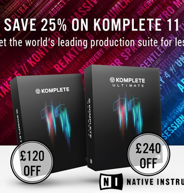 SAVE £££'s on Native Instruments Komplete 11