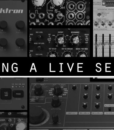 Building a live electronic set, the DAW-less way