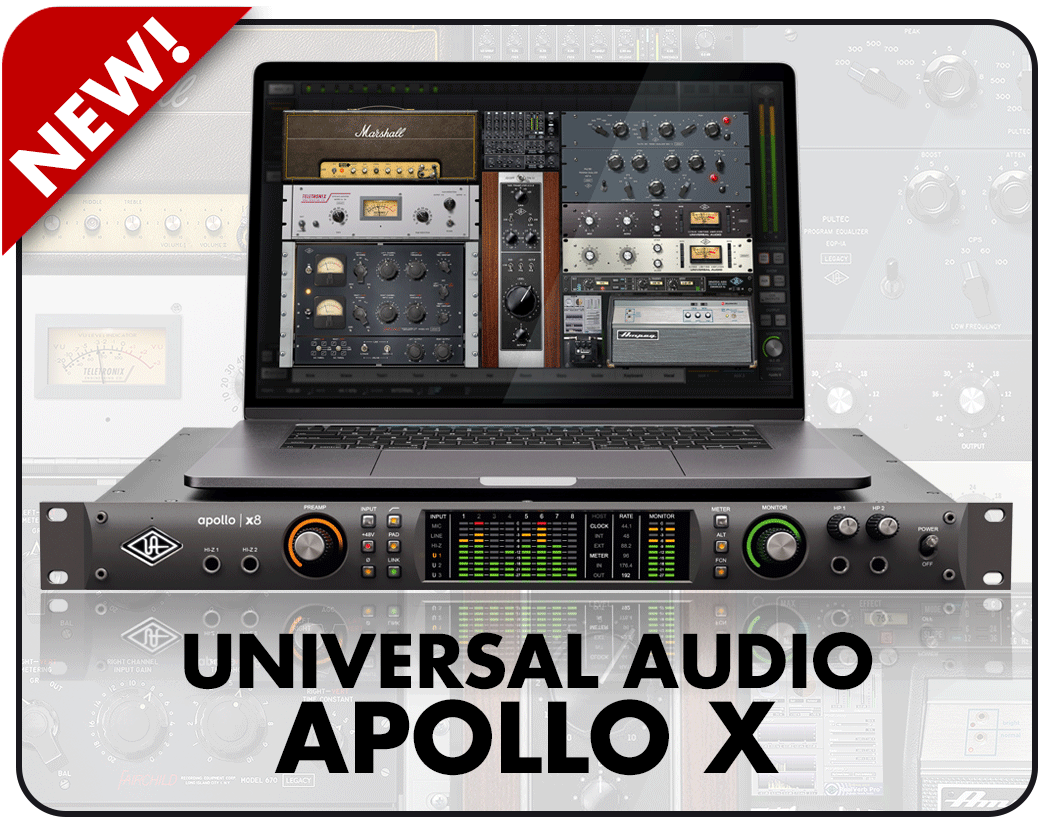 Universal Audio announce Apollo X