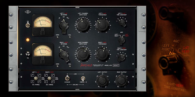 Fairchild Legacy KMR Audio Plugin