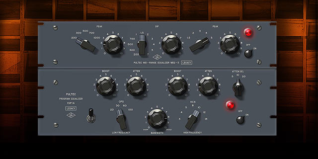 Pultec EQ Legacy KMR Audio