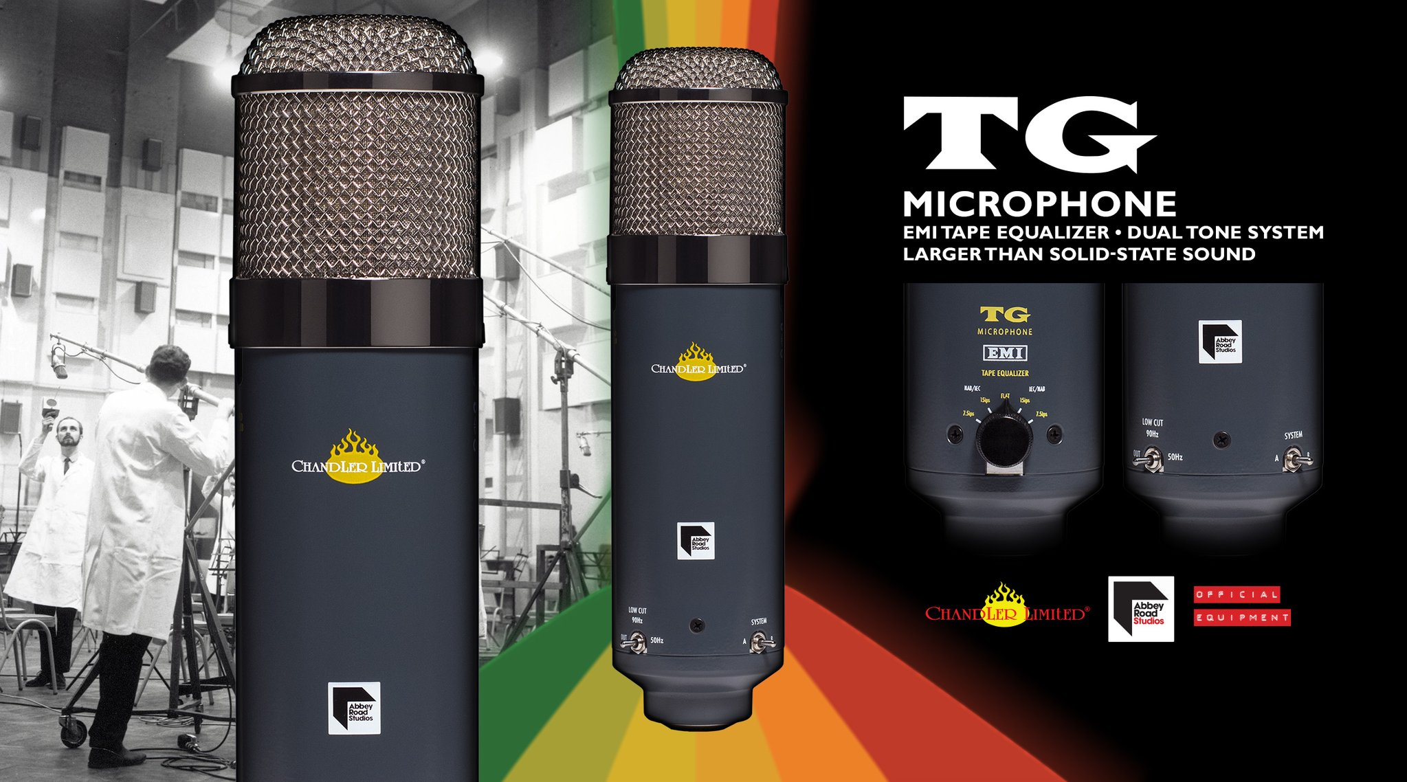 KMR Audio Chandler TG Mic