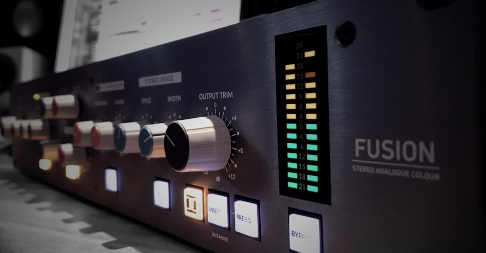 SSL KMR FUSION Fade Edit