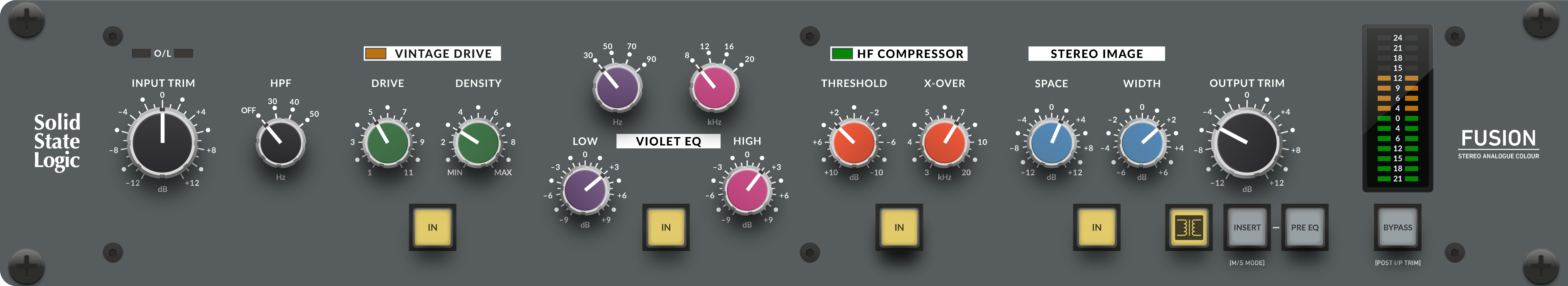 KMR Audio SSL Fusion Graphic