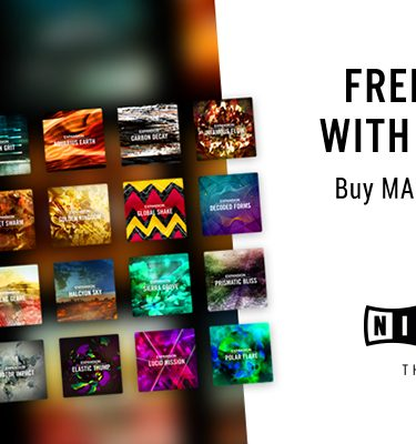 Free Expansions when you buy any Maschine Product
