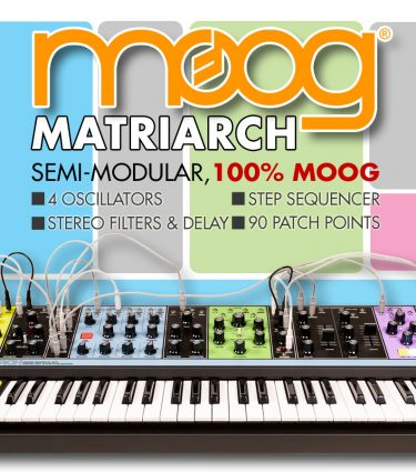 Moog Matriarch Revealed at Moogfest!