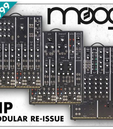 Moog System 3P Legacy Modular in stock and on demo!