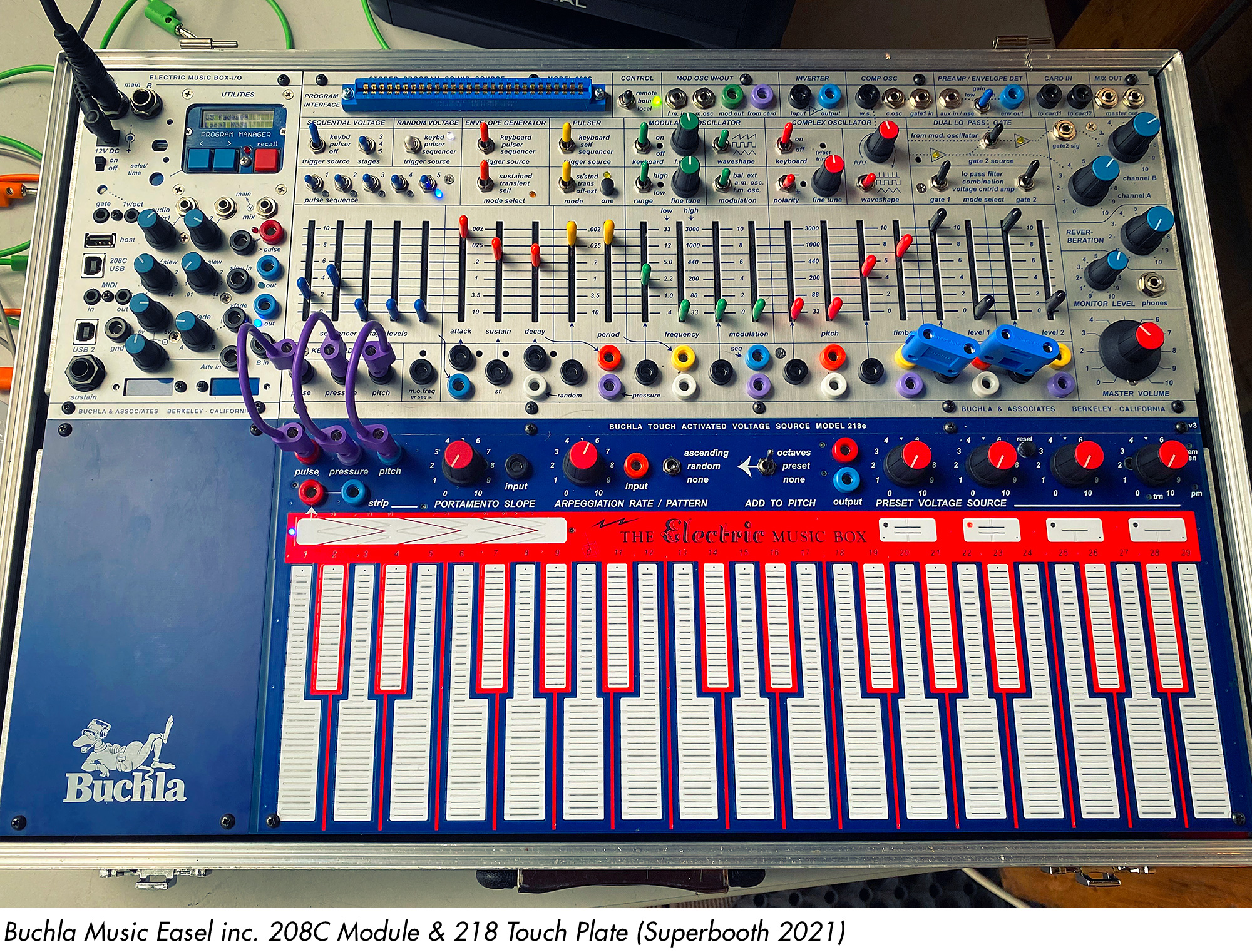 Buchla Music Easel (Superbooth 2021)