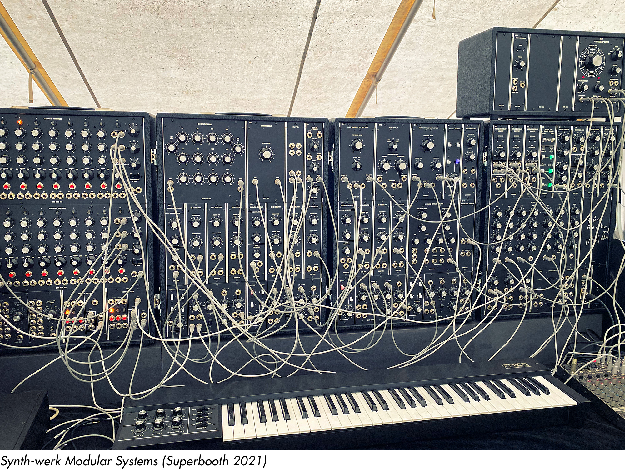 Synth-werk Modular Systems (Superbooth 2021)